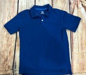 Boys blue Cherokee polo large